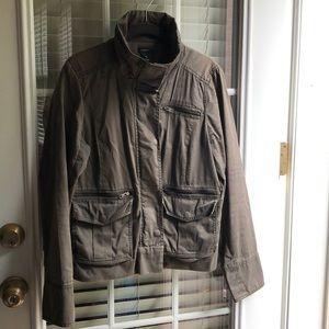 Olive/army green J.Crew Utility Jacket
